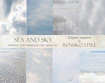 Sea and Sky Overlays Atmospheres Photoshop Textures