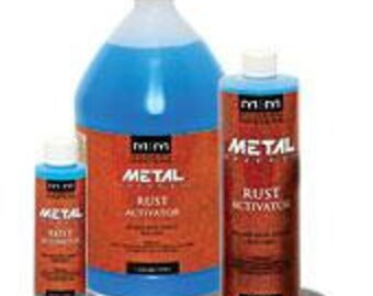 Modern Masters Rust Activator & Patina Solution- 6 Oz., 32 Oz. Or Gallon