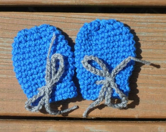 Baby Mittens, Crochet Baby Mitts, Baby Boy Mittens, Infant Girl Mitts, Pink Mittens, Blue Mittens, Bring Home Baby, Hospital Baby Mitts