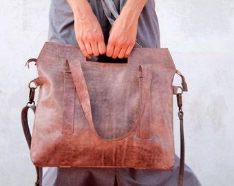 Leather crossbody, purple crossbody bag, shoulder leather bag, women handbag, leather handbag, crossbody bag, handmade leather bag, tote bag