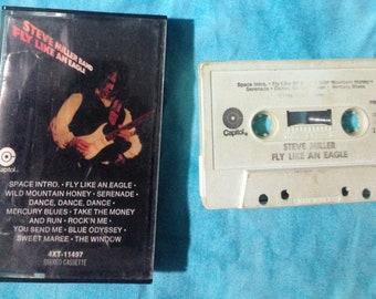 Steve Miller Band / Fly Like An Eagle audio cassette tape