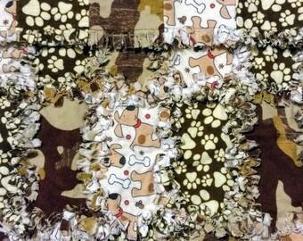 Flannel Rag Pet Blanket