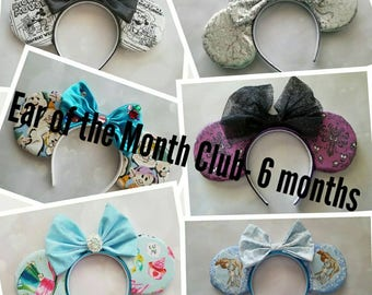 Ear of the Month Club- 6 month subscription