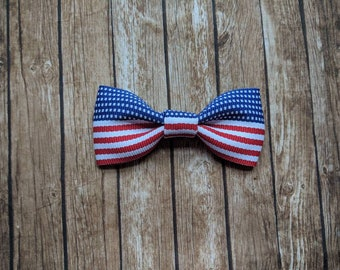 4th of July headband-newborn photography - hair clip - headband - hair bow - infant