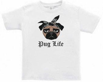 Pug Life Toddlers/Kids T-Shirt