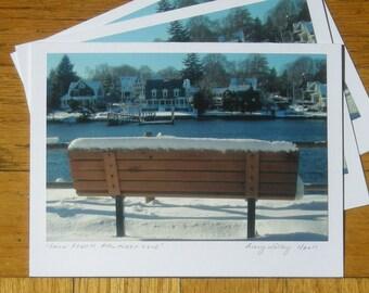 Snow Bench, Pawtuxet Cove, RI