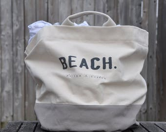 Canvas beach bag tote bag canvas tote bag beach tote canvas tote canvas bag summer bag shopping bag beach tote bag personalized tote