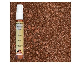 Ink Spray - Metallic Spray Paint - Mixed Media Glimmer Spray - Glimmer Paint
