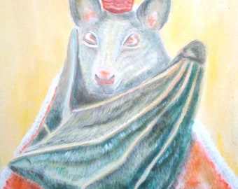 coronation of a bat