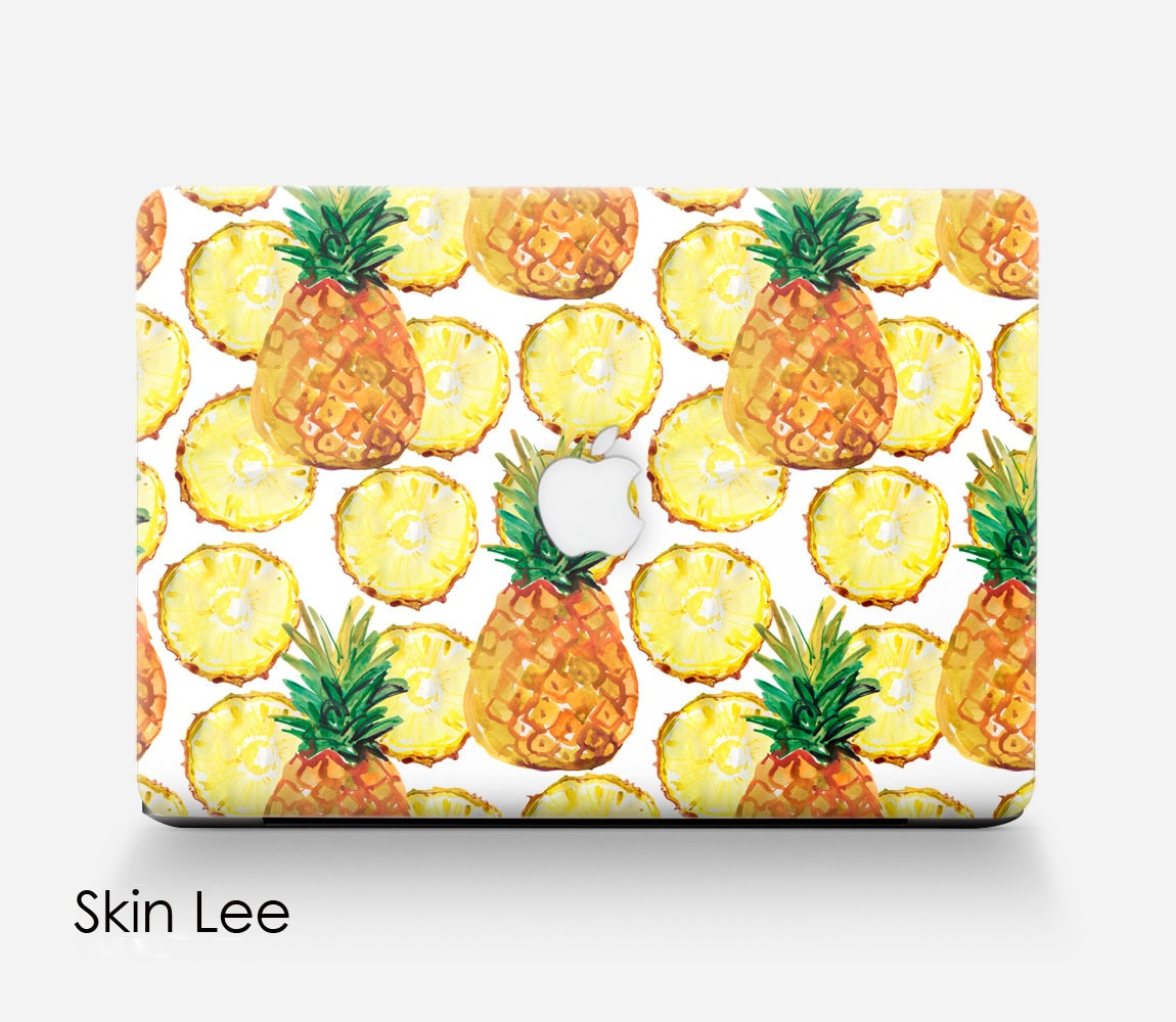 PINEAPPLE Computer Decal Computer Case Computer Stickers Computer Geek Gift  Computer Skins Pc Case Apple Mac Stickers Apple Mac Decal Skin