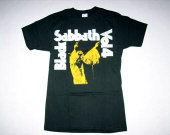 Brand New Free Same Day Shipping Classic Black Sabbath Volume 4 Distressed Shirt Small, Medium, Large, XL Available