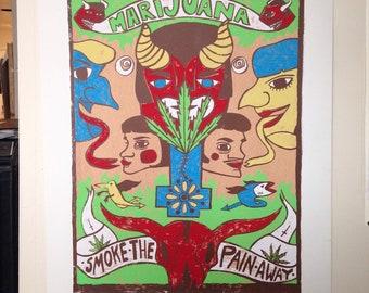 Smoke The Pain Away poster