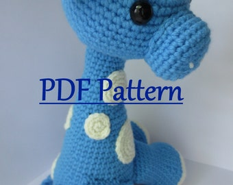 Amigurumi Free Patterns Beginners : Crochet pattern giraffe april crochet amigurumi giraffe