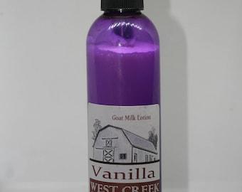 Ultra Moisturizing Vanilla Goat Milk Lotion