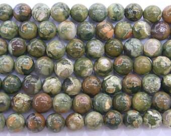 4mm Round New Kambaba Jasper Semi Precious Gemstone 15''L - 5612