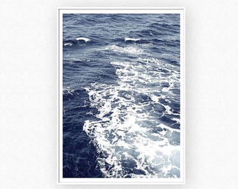 Ocean Print, Sea Wall Art, Digital Download, Ocean Art, Wave Wall Art, Ocean Photography, Ocean Poster, Ocean Waves Print, Nature Art Prints