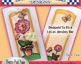 Flower Candy Bar Wrapper, Thanks You Candy Bar Wrapper, Thinking of You Candy Bar Wrapper, Laurie Furnell, Thank You Printables,