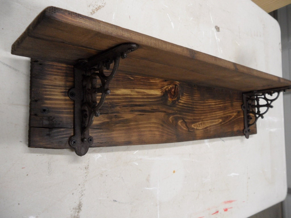 bracket side decorative hardware decor shelf miette black powder cast caot coat metal iron brackets