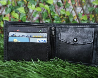 Men's Leather Wallet, Leather wallet, Bifold wallet , Bifold , Coin case, Business / credit card case, handmade