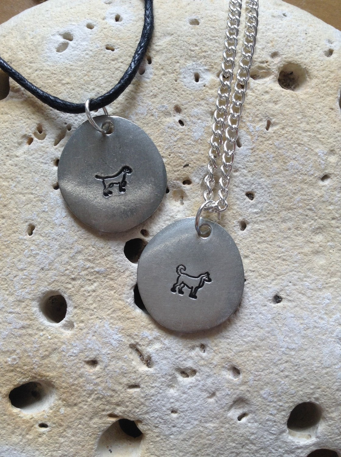 Dog lover jewellery, pet memorial necklace, dog breed jewelry, animal necklace, unisex