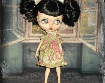 Blythe  ~ Vintage Inspired Smocked Dress ~ By KarynRuby