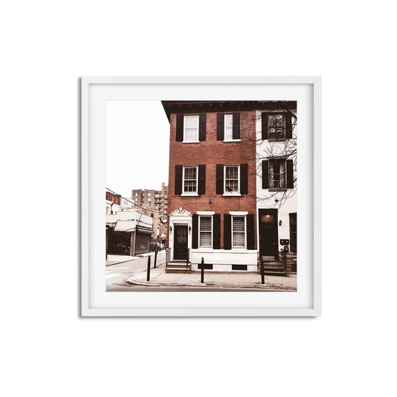 Rosestone Corner - Philadelphia Photo Print