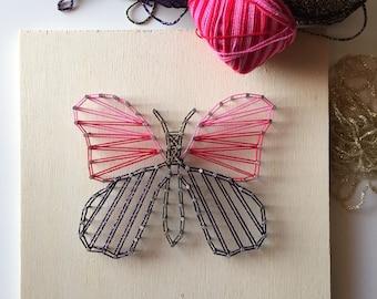 Easter egg kit in string art, Easter DIY string art, Easy tutorial in string art, Home decoration