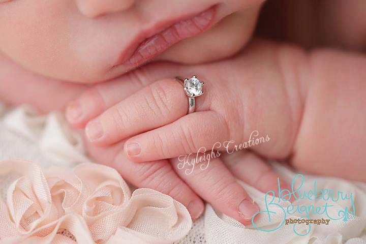 newborn ring newborn diamond ring newborn jewelry