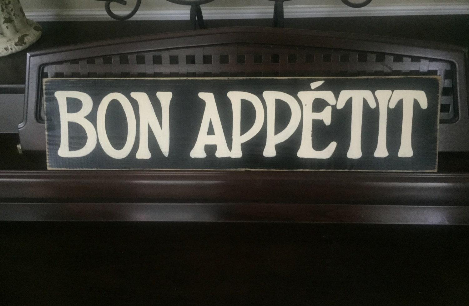 Bon Appetit French Cooking Dining Kitchen Room Decor Sign