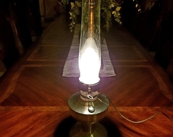 Vintage Aladin Electric Oil Table Lamp