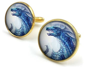 Dragon Cuff Links, Dragon Cufflinks, Dragon Jewellery, Dragon Jewelry,Men Dragon Cufflinks,Dragon Gifts for Men,gift for men,gift for him 08