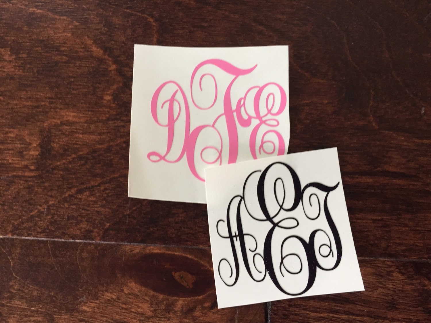 Buy One Get One Monogram Initial Decal Sticker Rtic
