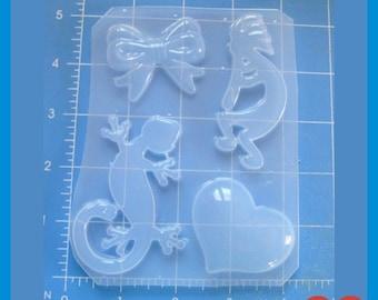 SOUTHWEST  LOVE Flexible Plastic Handmade Resin Mold-