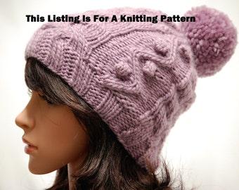 Winter Hat Knitting Pattern