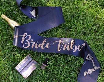 Bride Tribe Sash - Bride Tribe Hen Party Range - Other Matching Sashes Available