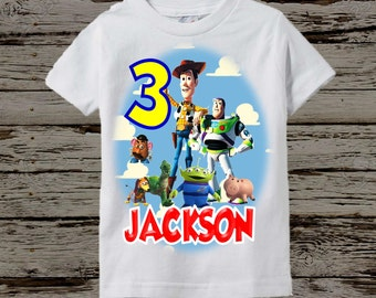 Toy Story Birthday Shirt - Toy Story Shirt - More Colors Available