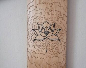 Lotus Design Skateboard (wave collection)