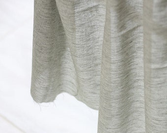 "Khaki Cotton Gauze Fabric, Solid Color Gauze, Yarn Dyed Gauze Fabric - 61"" Wide - By the Yard 85852"