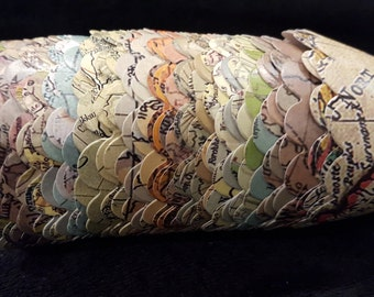 Custom Old Map Cupcake Wrappers (12)- 12 Designs