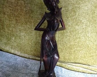 carved wooden figure sculpture