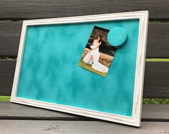 Daily Planner - Framed - Magnetic Board, Photo Board, Memo Board, She Shed Decor, Mom Cave, Command Center, Message Board