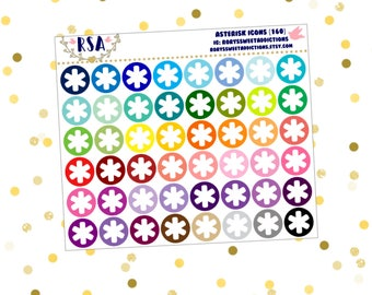 Asterisk Icons  {160}