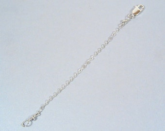 4 Inch Necklace Extender-Sterling Silver