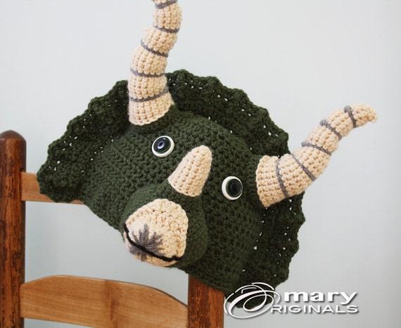 Triceratops Hut Dinosaurier-Hut Dino Hut Halloween-Kostüm