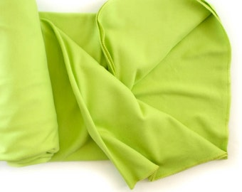 Swaddle Sale! Organic Cotton Swaddle Blanket for Baby - Lime Green