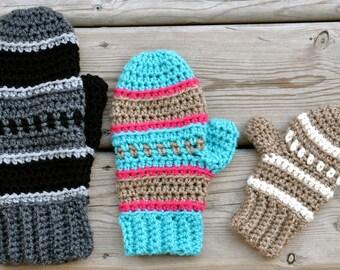 Dylan Mittens Crochet Pattern pdf