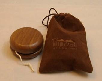 Solid Walnut Yo-yo