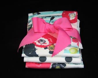 Burb Cloth Set- Paparounes Pastel