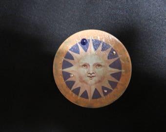 Sunshine Face Tin Box