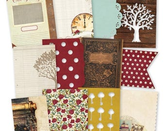 Simple Stories Legacy SN@P! Pages, Includes Journal Pages/Die-Cut Pages for SNAP 6 x 8 Albums